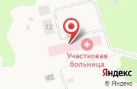 Схема проезда до компании Заостровская участковая больница в Большом Анисимово