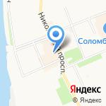 Первый мужской на карте Архангельска