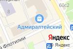Схема проезда до компании Tunnell beer в Архангельске