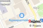 Схема проезда до компании Топ-Топ в Архангельске