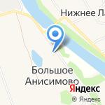 Заостровский сельский дом культуры на карте Архангельска