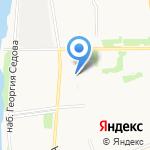 Ежевика на карте Архангельска