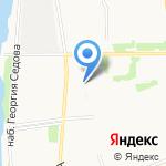 Дарина на карте Архангельска