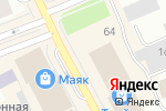 Схема проезда до компании ДелаН в Архангельске