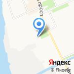 Соломбала-Арт на карте Архангельска