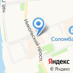По карману на карте Архангельска
