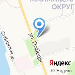 Сбербанк на карте Архангельска
