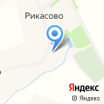 Храм Сретения Господня на карте Архангельска