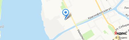 Медико-санитарная часть №29 Федеральной службы исполнения наказаний на карте Архангельска