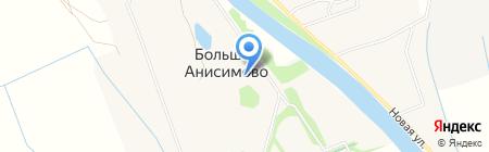 Банкомат Московский Индустриальный Банк на карте Большого Анисимово