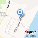 Почтовое отделение №23 на карте Архангельска