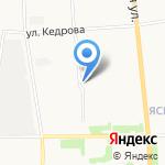 Он и она на карте Архангельска