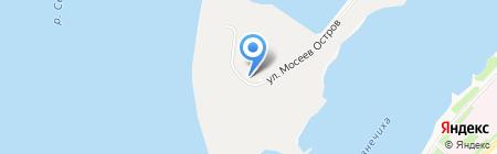 Гидроветстрой на карте Архангельска