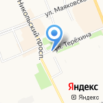 Боброфф на карте Архангельска