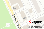 Схема проезда до компании Соломбальский районный суд в Архангельске