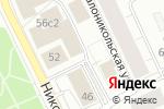 Схема проезда до компании B & H в Архангельске