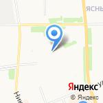 Огонек на карте Архангельска