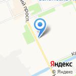 Ретро фильм на карте Архангельска