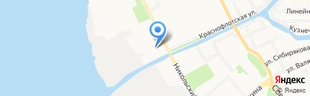 ДЮСШ №6 на карте Архангельска