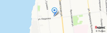 Радиус на карте Архангельска