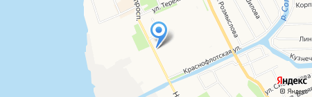 Капитал-Инвест на карте Архангельска