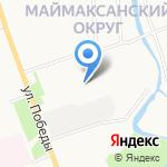 Умка на карте Архангельска