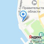 Архангельские Гостиные дворы на карте Архангельска