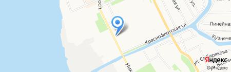 Tellme на карте Архангельска