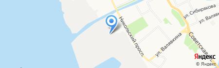 Столовая на карте Архангельска