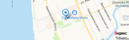 Союзпечать на карте Архангельска