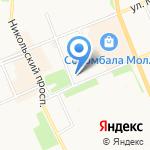 Открытая сменная школа на карте Архангельска