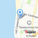 Столица Поморья на карте Архангельска