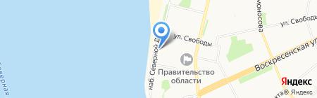 Like на карте Архангельска