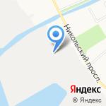 Моряна на карте Архангельска