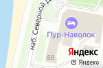 Схема проезда до компании Столица Поморья в Архангельске