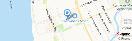 МИКСленд на карте Архангельска