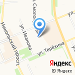 Комплекс-М на карте Архангельска