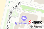 Схема проезда до компании Пур-Наволок в Архангельске