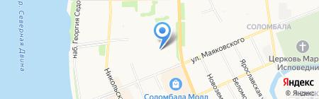 Инспекция по делам несовершеннолетних Отдел полиции №5 на карте Архангельска