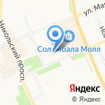 Шмель на карте Архангельска