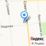 Айсун на карте Архангельска