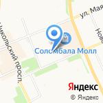 Двери для вас на карте Архангельска
