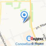 Инспекция по делам несовершеннолетних на карте Архангельска