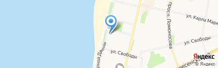 Зубная формула на карте Архангельска