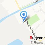 Светотехнические решения на карте Архангельска