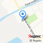 ДФ Компани на карте Архангельска