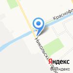 Часовня в честь Николая Чудотворца на карте Архангельска