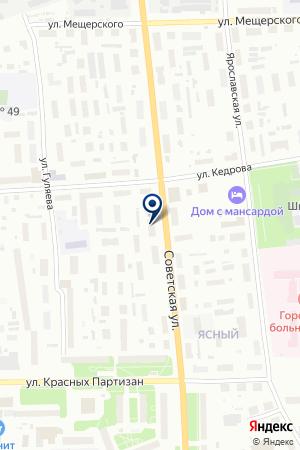 Адвокатский кабинет Журавлёва М.Л. на карте Архангельска