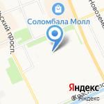 Магазин автоэмалей и оборудования на карте Архангельска