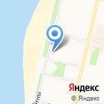 Архангельский областной психоневрологический диспансер на карте Архангельска